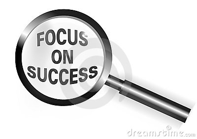 Fokus auf Erfolg