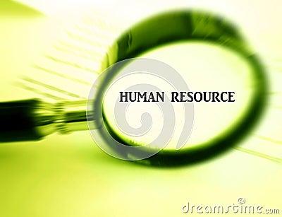 Fokus auf menschlichem Hilfsmittel