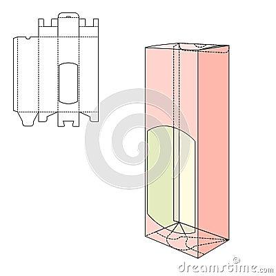 fold package stock vector image 62268737. Black Bedroom Furniture Sets. Home Design Ideas