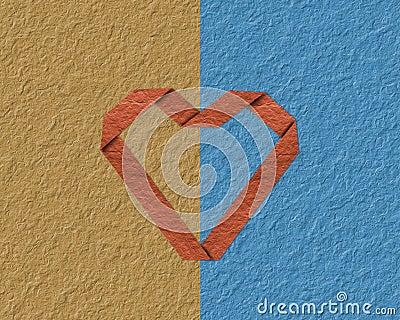 Fold a paper heart