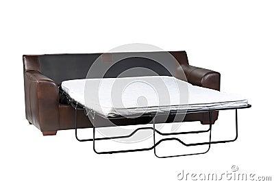 Foldable Sofa Bed Royalty Free Stock Image - Image: 23733656