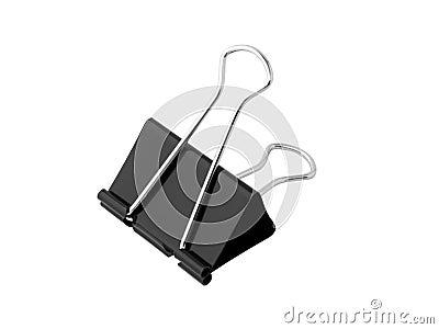 Foldback bulldog clip
