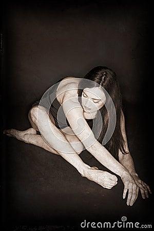 Folded dancer