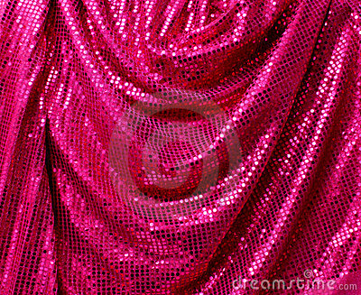 Folded disco glitter canvas