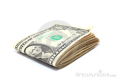 Folded dollars