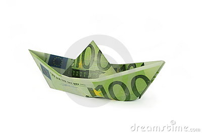 Folded Money Boat