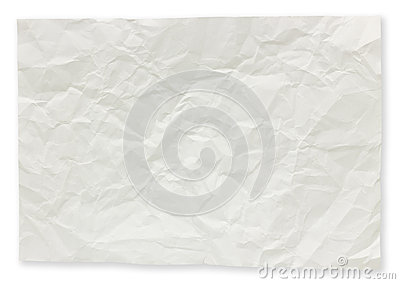 Folded paper notes.