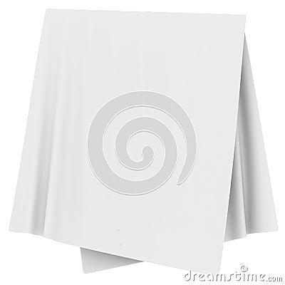 Folded White Cloth