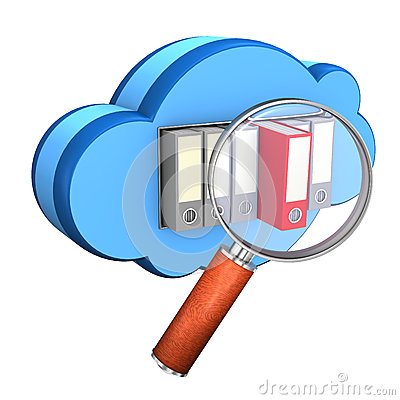 Folder Cloud Loupe