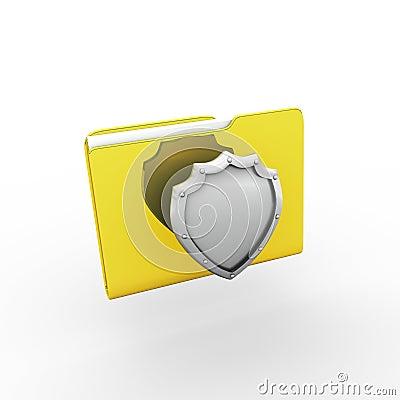 Folder. 3d