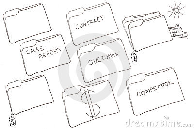 Folder drawings