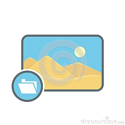 Free Folder Image Photo Photography Picture Icon Royalty Free Stock Photography - 110552037