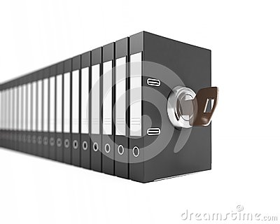 Folder key