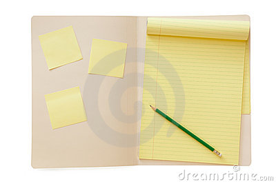Folder with Notepad