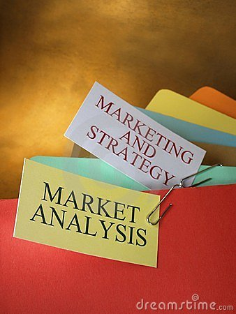 Folders by analysis and marketing strategies