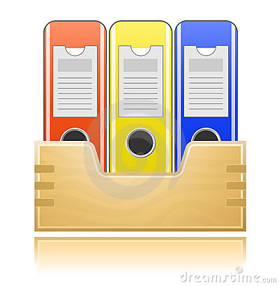 Folders for office documents
