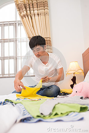 Free Folding Clothes Royalty Free Stock Image - 66814526