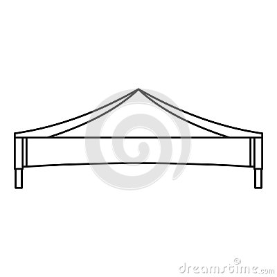 Free Folding Tent Icon, Outline Style Royalty Free Stock Photo - 121280835