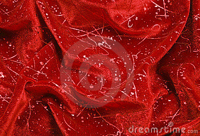 Folds of Velvet Ornament Drapery
