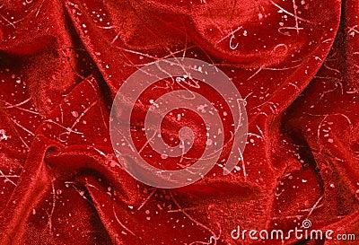 Folds of Velvet Ornament Drapery
