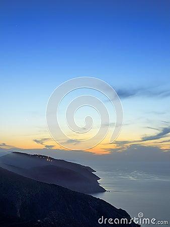Free Folegandros At Dusk Stock Images - 32625144