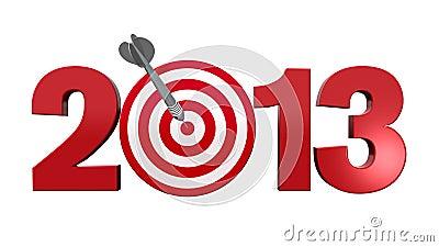 Folgendes Ziel 2013.