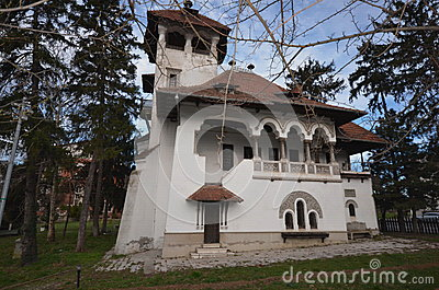 Folk art museum prof dr nicolae minovici stock photo image 38864280 - Neo romanian architecture traditional and functional house plans ...