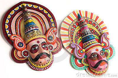 Folk dance puppets of India