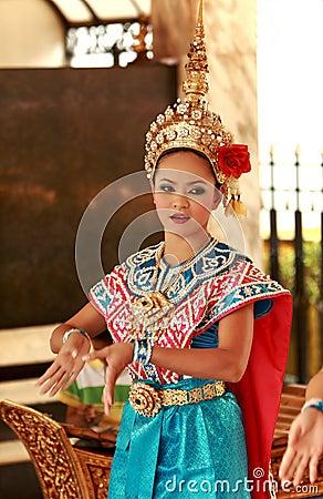 Folk Dancing,Bangkok,Thailand Editorial Photo