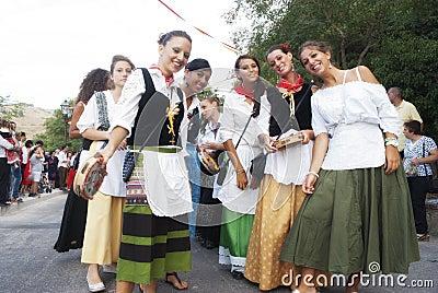 Folk groups Editorial Image