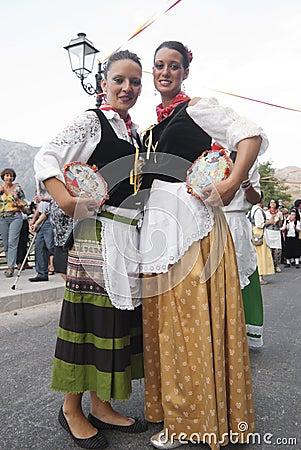 Folk groups Editorial Stock Photo