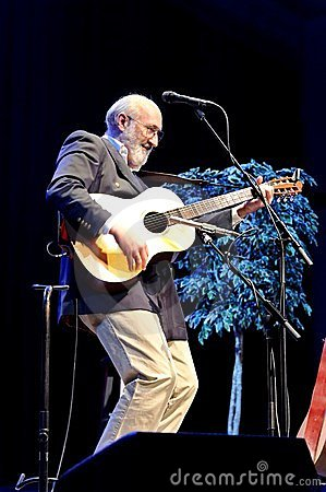 Folk Music with Paul Stookey Editorial Photography