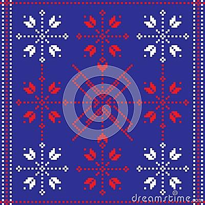 Folk pattern