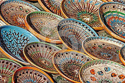 Folk pottery 6