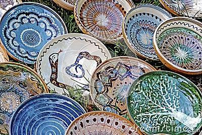 Folk pottery 12