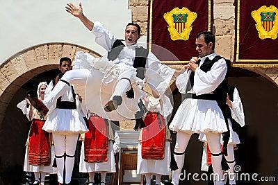 Folklore Festivals in Europe Editorial Photo