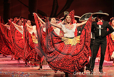 Folkloric Ballet of Mexico Editorial Stock Image