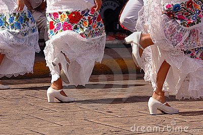 Folkloric Dancers in Mexico