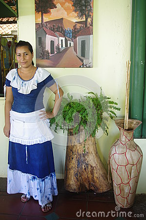Folkloric latin american dress Editorial Image
