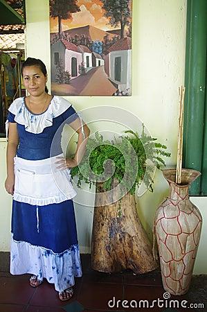 Folkloric latin american dress Editorial Image
