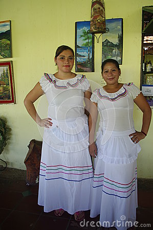 Folkloric latin american dress Editorial Stock Image