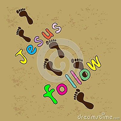 follow jesus royalty free stock photo image 36458355 Free Clip Art Cute Fish Clip Art
