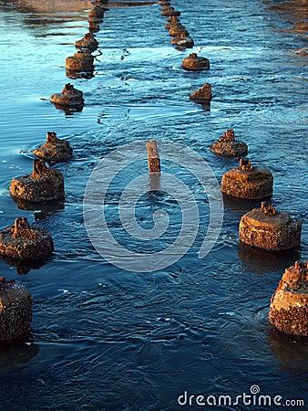 Follow the river path