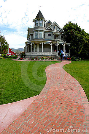 Free Follow The Red-Brick Road Royalty Free Stock Image - 115046