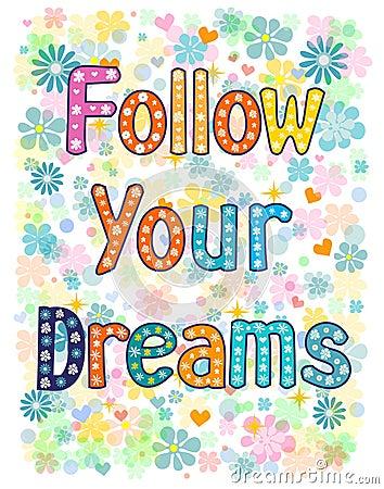 Follow Your Dreams Clipart Follow Your Dre...
