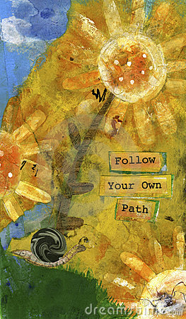 Free Follow Your Own Path 2 Stock Image - 108281