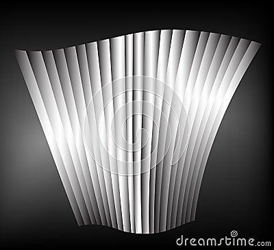 Fond abstrait en noir et blanc