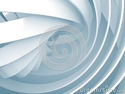 Fond abstrait avec les structures bleu clair de la spirale for Interieur a la spirale