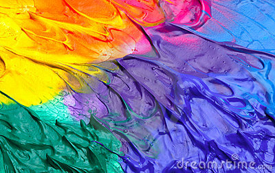 Photographie stock fond abstrait de peinture acrylique