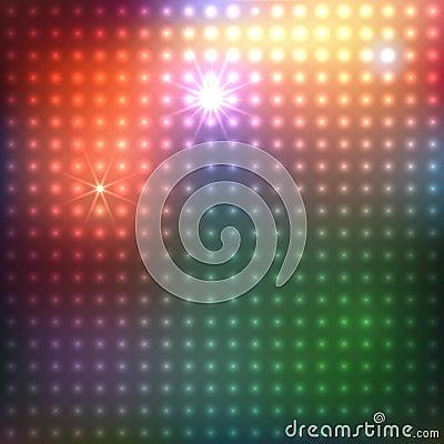 Fond abstrait multicolore
